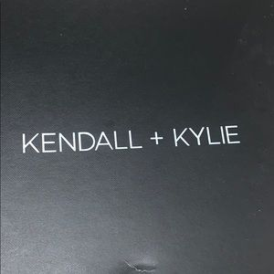 New Kendall and Kylie wedge sandals